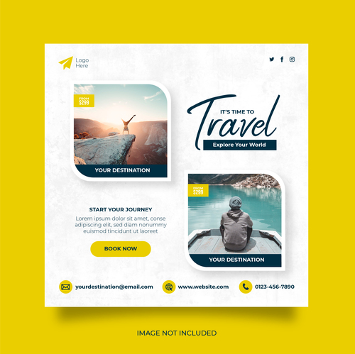 Social networks travel vector