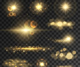 Sparkling glare background vector