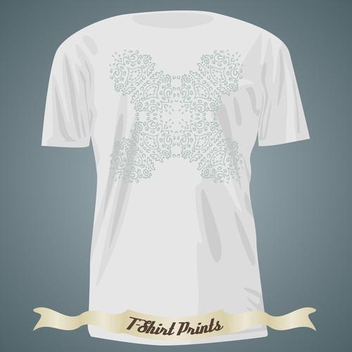 T Shirts prints design vector