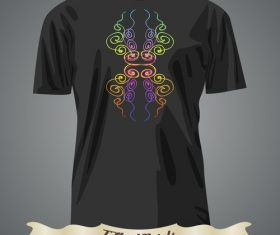 T-shirts abstract prints design vector