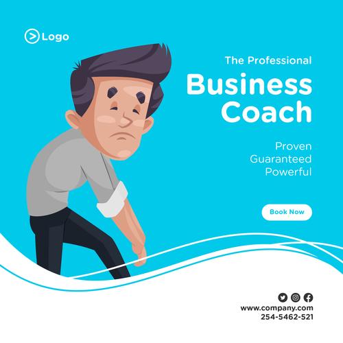 Tired businessman cartoon illustration vector