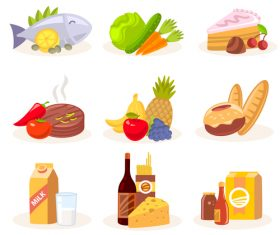 Various cuisine vector