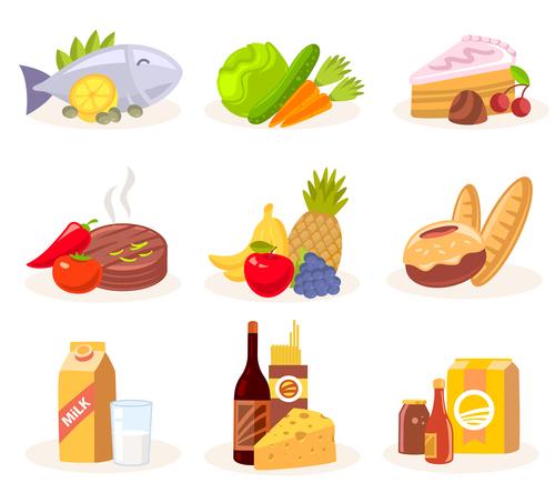 Various cuisine vector