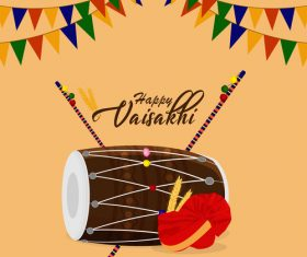 Vasant Panchami illustration day celebration vector