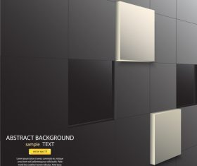 Wall background vector