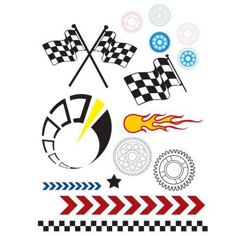 racing element vector