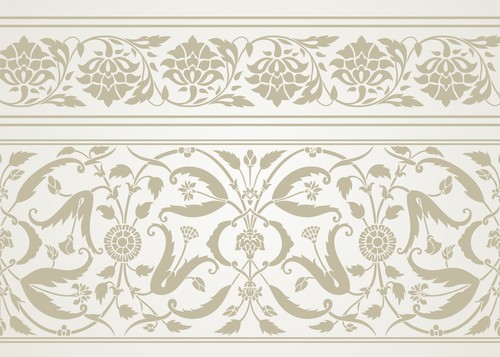 Art ornaments pattern vector