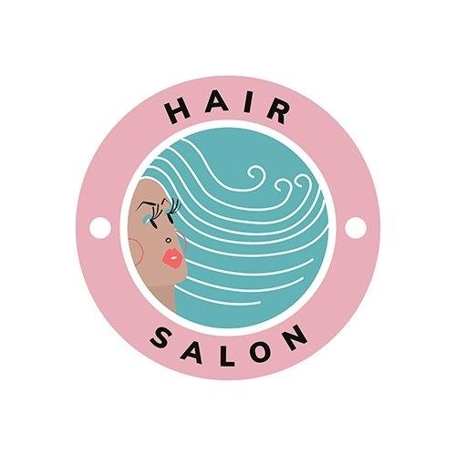 Beauty and hair salon icon vector