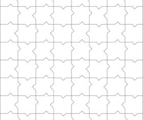 Checkered puzzle vector