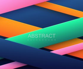 Color bars abstract geometric background vector