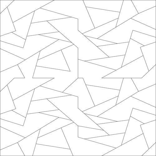 Complex Jigsaw vector