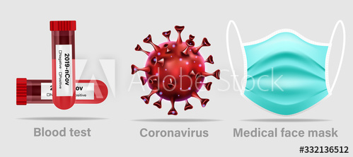 Coronavirus protection means vector