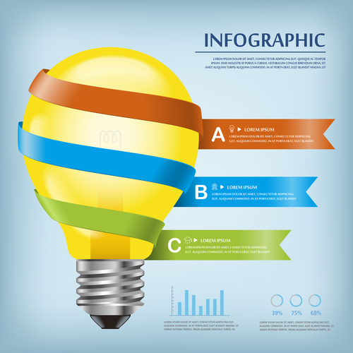 Effectiveness concept infographic vector