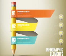 Infographic elements concept vector