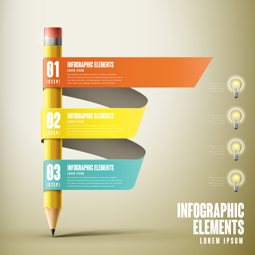 Infographic elements concept vector