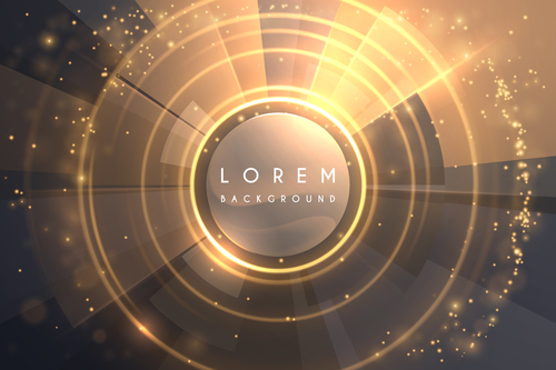 Lorem abstract background vector