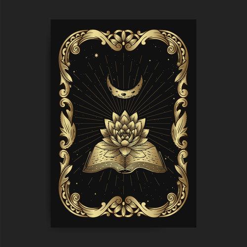 Lotus book vector