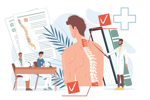 Medical lecture vector