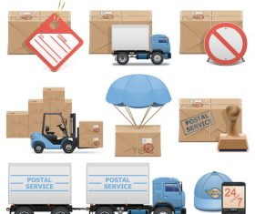 Postal service vector