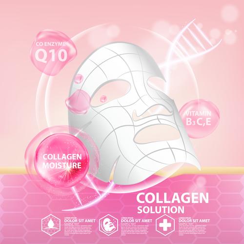 Protein cosmetics vector