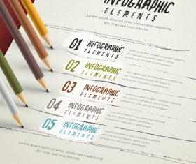 Report infographic concept vector