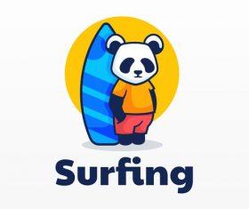 Surfing icon design vector