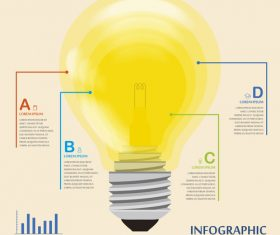 Template concept infographic vector