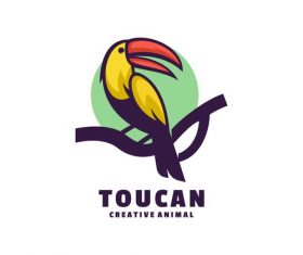 Toucan icon design vector
