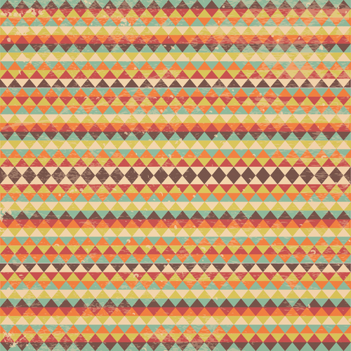 Triangle grunge background pattern vector