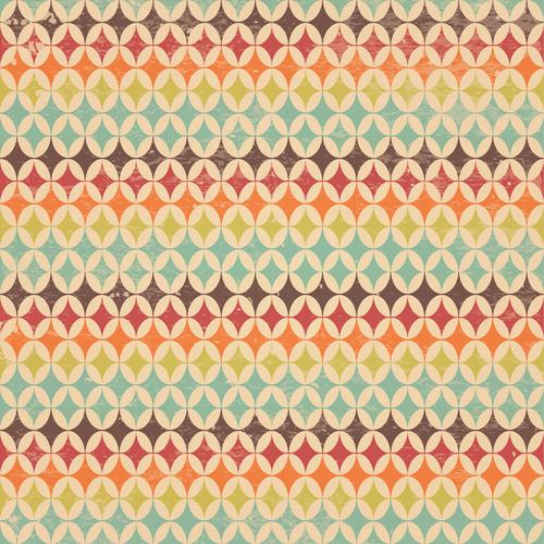 Vintage grunge background pattern vector