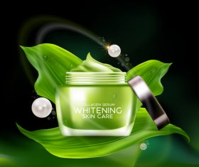 Womens moisturizing essence vector
