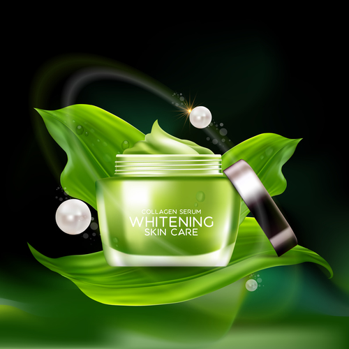 Womens moisturizing essence vector