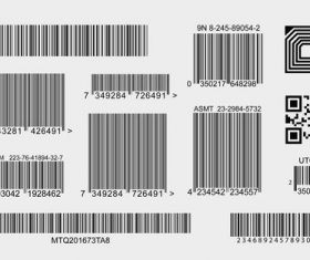 barcode-collection vector