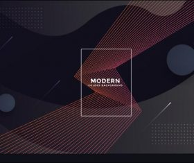 3d geometric vector background template design
