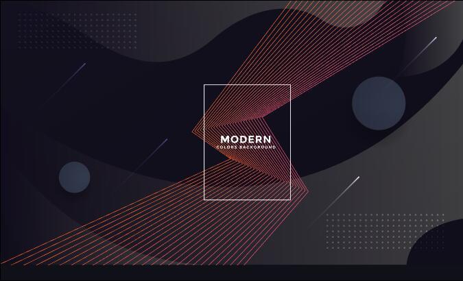 3d geometric vector background template design