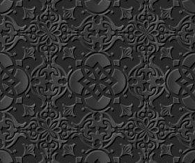 3d modern decorative patterns in vector