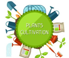 Agricultural cultivation vector