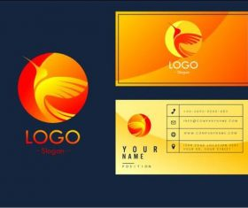 Art business card logo vector