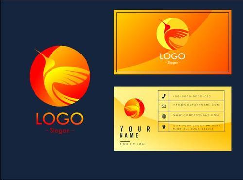 Art business card logo vector