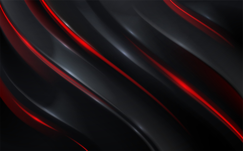 Black and red vector background