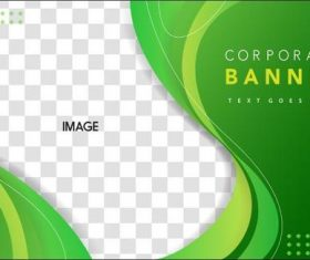 Corporate background template design vector