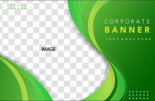 Corporate background template design vector