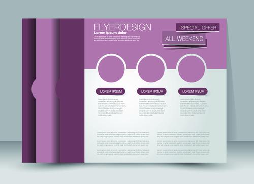 Design business advertisement template vector