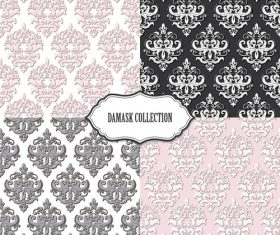 Different styles seamless pattern background vector
