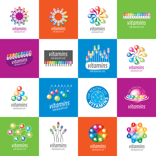 Drugs icon collection vector