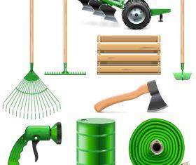 Farm tool icon vector