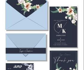 Generous and elegant invitation design vector