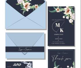 Generous and elegant invitation design vector