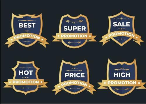 Hot promotion label vector