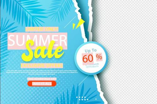Limited only summer sale vector